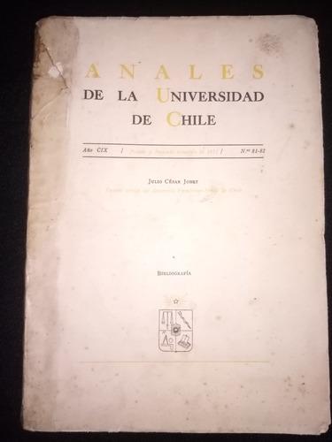 Julio César Jobet. Ensayo Crítico Del Desarrollo Económico