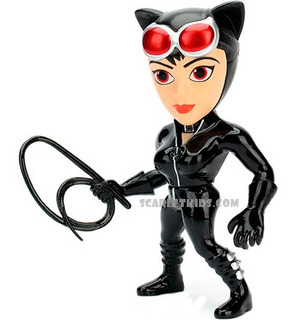 Catwoman Figura Metals 4 Pulgadas Die Cast Jada Metalfigs
