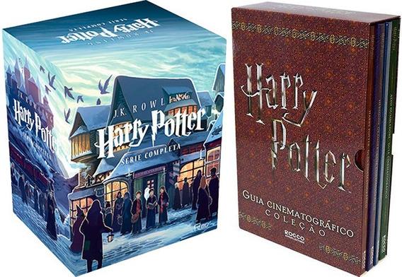 Box Harry Potter + Box Guia Cinematográfico (11 Livros)