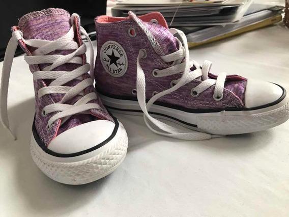 Zapatillas Converse All Star Botitas Talle 31