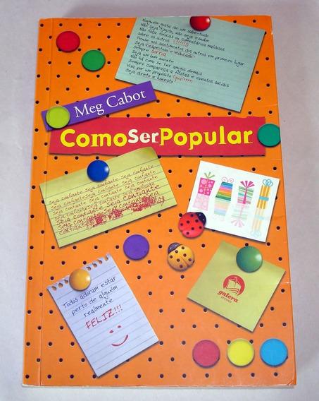 Livro Como Ser Popular Meg Cabot