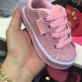 Sapatinho Puma Glitter Infantil Tam 30