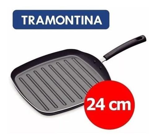 Plancha Bifera Teflon Antiadherente Tramontina 24 Cm