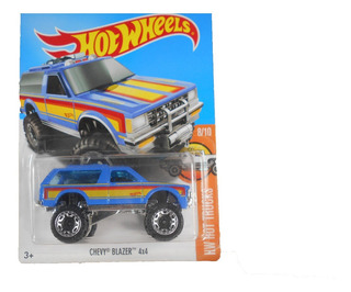 Fermar4020 Chevy Blazer 4x4 L-493 #34 2017 Hot Wheels
