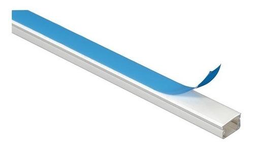 Imagen 1 de 1 de Canaletas Plasticas Auto Adhesivas 10x10 X 2 Metros Redes