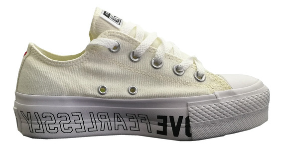 Zapatilla Converse Chuck Taylor All Star Lift Ox 168322c Muj