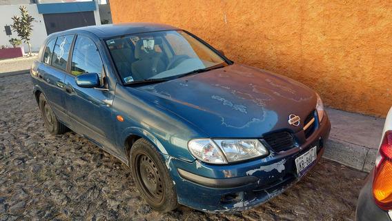 Almera Azul Enllantado Todo Pagado Motor 1.4 Excelente Inter