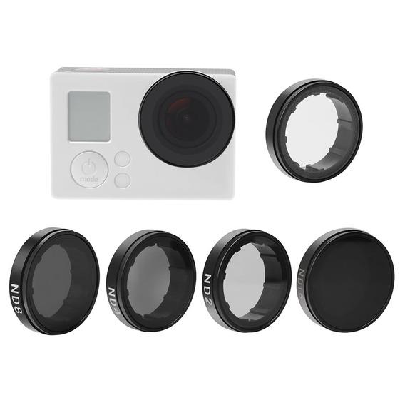 Andoer Lens Rodada Filtros Set Kit (nd2 /