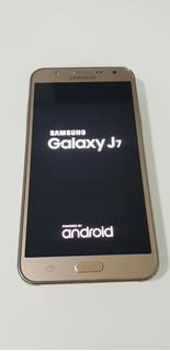 Samsung J7 - Seminovo - Vem Na Caixa Com Acessórios