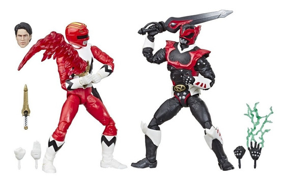 Boneco Red Galaxy Psycho Power Rangers Lightning Collection