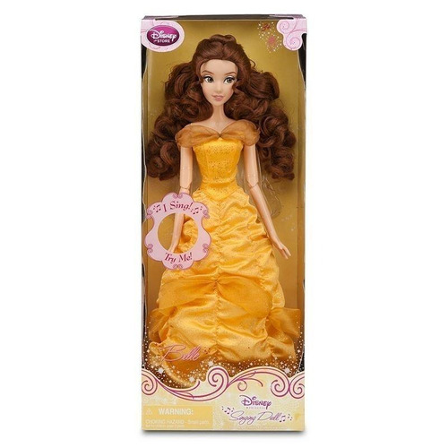Muñeca Bella-  Singing Doll  Disney Store  :canta