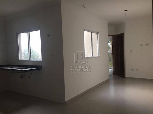 Cobertura À Venda, 80 M² Por R$ 280.000,00 - Parque João Ramalho - Santo André/sp - Co4620