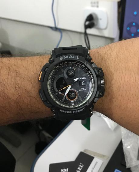 Relógio Militar Smael Tipo G Shock