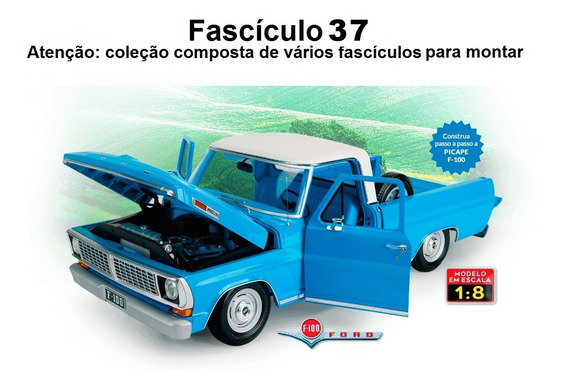 Construa A Pick Up Ford F100 Salvat - Fascículo 37
