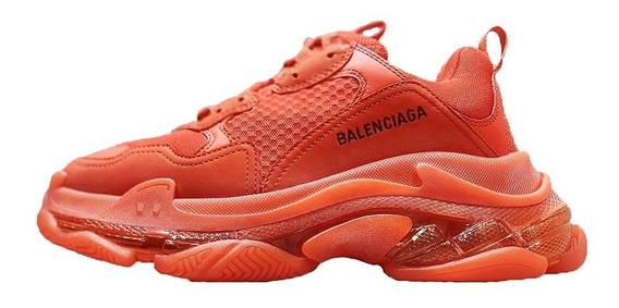 Tenis Balenciaga Orange Caballero
