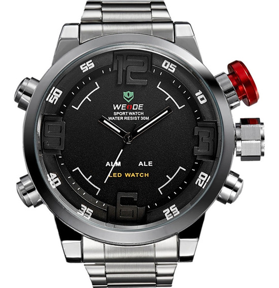 Relógio Weide Masculino Original Garantia Barato Com Nota