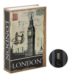 Caja Fuerte De Combinacion Forma De Libro Londres London