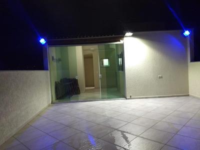 Cobertura Com 3 Dormitórios À Venda, 63 M² Por R$ 380.000 - Vila Metalúrgica - Santo André/sp - Co0604