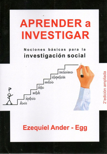 Aprender A Investigar. ( Ander - Egg, Ezequiel )