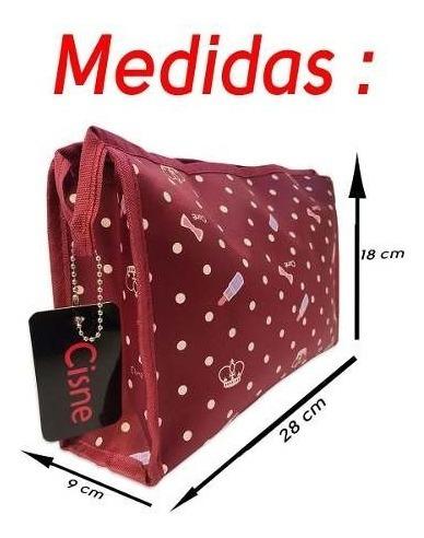 Kit 2 Bolsas Necessaire Rubys Pequena Estampada *promoção*