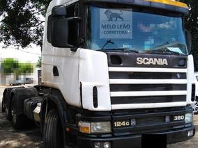 Scania R-124 Ga 6x2 Nz 360 - 98/98 - Cavalo Truck