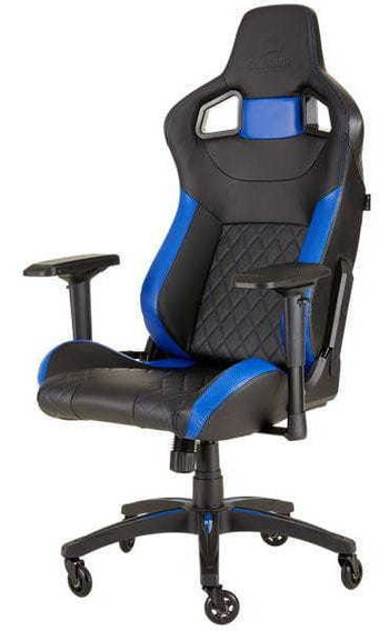 Cadeira Gamer Corsair T1 Race 2018 Edition Preto/azul Nf-e