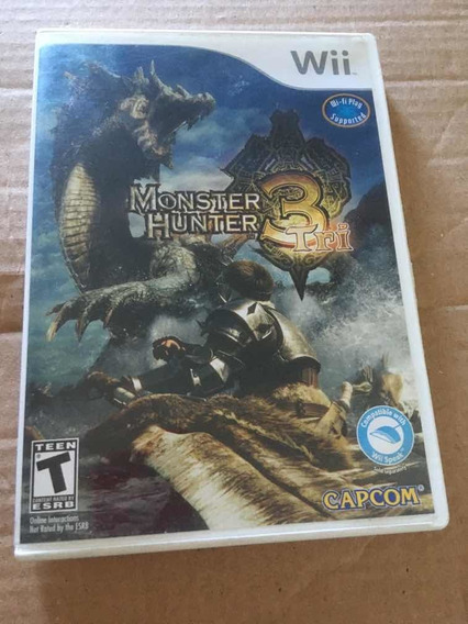 Monster Hunter 3 Tri - Wii - Ref 001