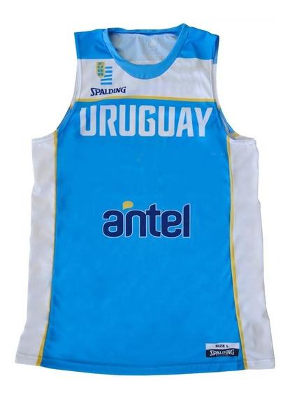 Camiseta Spalding Basquetbol Uruguay Selección Mvdsport