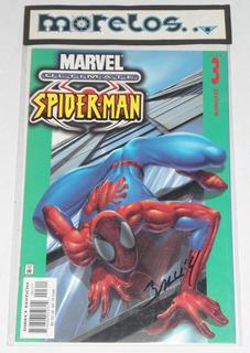 Ultimate Spider-man #3 -firmada Por Mark Bagley- C. O. A.