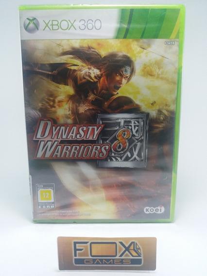 Xbox Jogo Dynasty Warriors 8