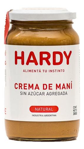 Hardy Crema De Mani Natural X 380 Gr
