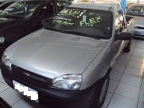 Ford Courier 1.6 L Flex Prata 2008 /revisada Unico Dono Top!