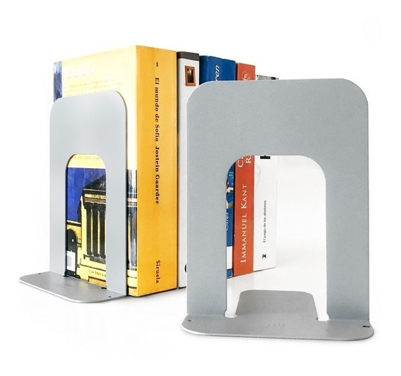 Sujeta Libros Organizador Soporte Apoya Libro X1 Chapa Muett