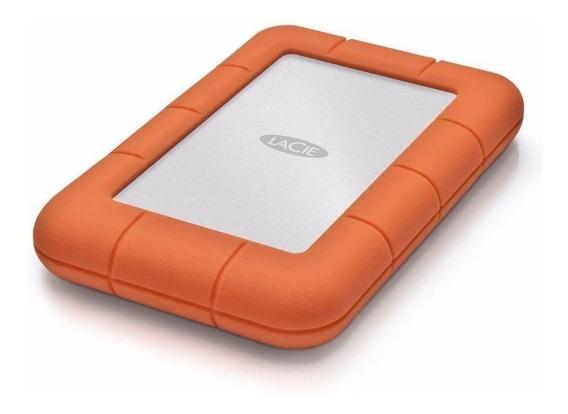 Disco Externo Lacie 1 Tb Rugged Mini Portatil Usb 3.0 Golpes