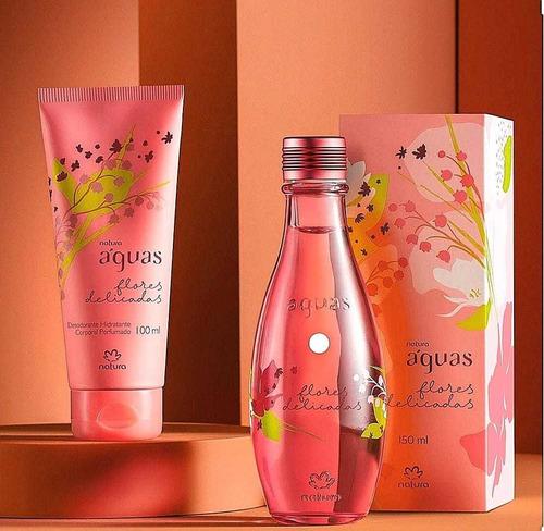 Perfume Aguas Flores Delicadas 150ml + - mL a $190