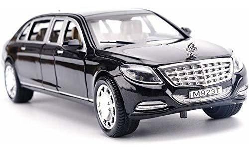 Gflyme Car Model Car Model Car 1 24 Mercedes Benz Maybach S6 Mercado Libre