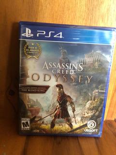 Juego De Ps4 Assassins Creed Odyssey Nuevo Sellado
