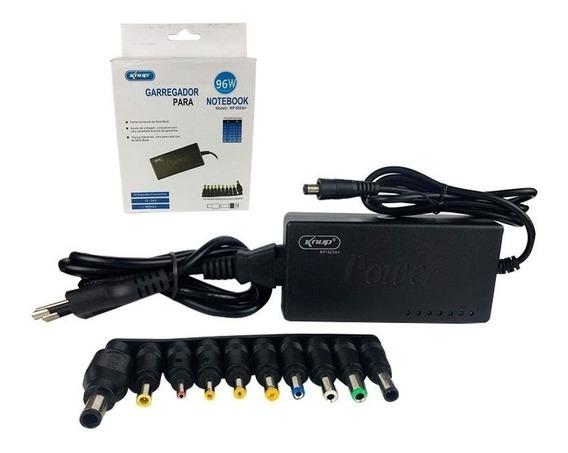 Carregador Universal Para Notebook Kp 525a 96 Watts Knup