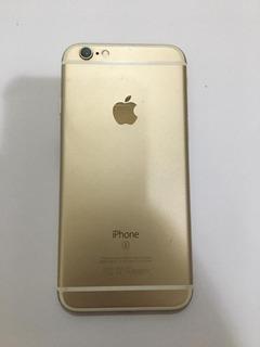 Carcaça iPhone 6s Dourada Completa Original Retirada