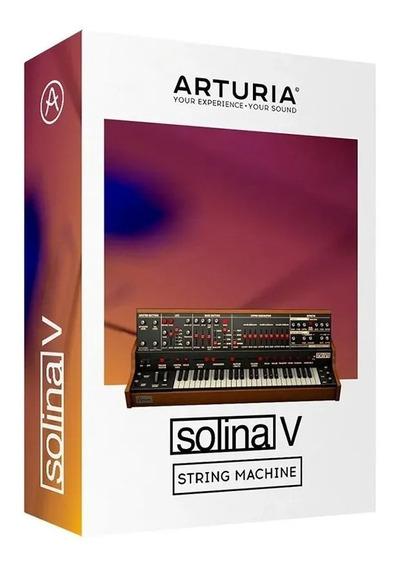 Software Arturia Arp Solina V Original Licencia Oficial