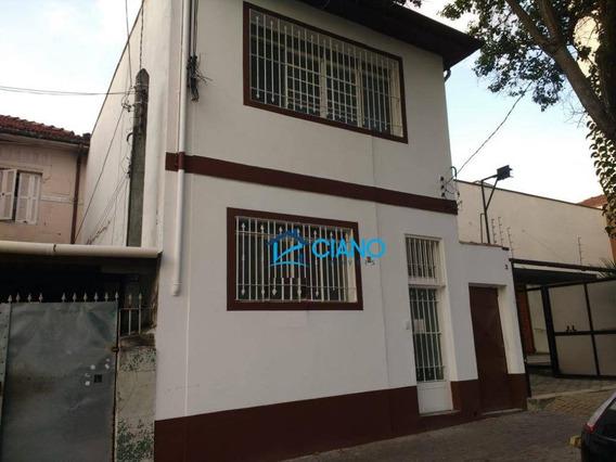 Sobrado Para Alugar, 220 M² Por R$ 4.990/mês - Mooca - São Paulo/sp - So0306