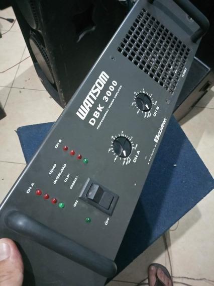 Potencia Wattsom Dbk 3000