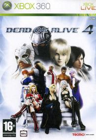 Jogo Dead Or Alive 4 Xbox 360 X360 Original Frete Grátis!
