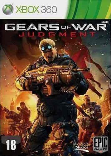 Jogo Gears Of War Judgment Xbox 360 Ntsc Em Dvd Original