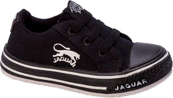 Zapatillas Jaguar Niñas Niños Cordones Original Art 138