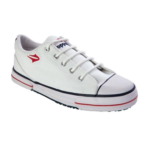 Nuevas Zapatillas Topper Nova Low Azul Roja Blanca Negro