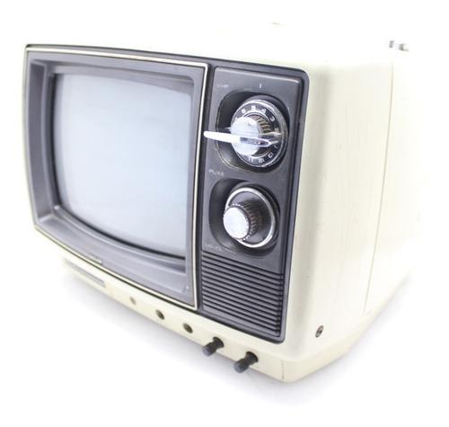 Imagem 1 de 10 de Televisor A Cores Toshiba Tvc-10il 10 Polegadas