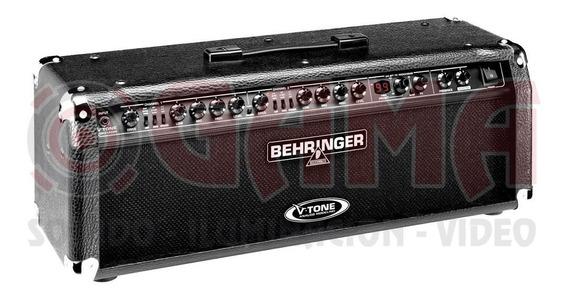 Cabezal Amplificador Guitarra Behringer 2x60w Gmx1200h 15000