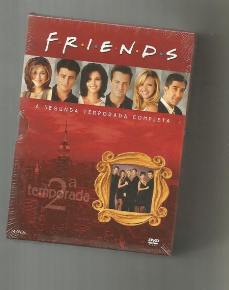 Friends 2ª Temporada Box Digipack 4 Dvds Lacrado