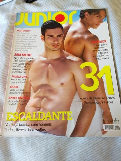 Revista Junior 7 Felipe Torreta Aníbal Gay